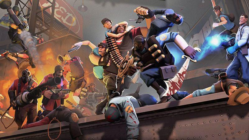 Výsledek obrázku pro Team Fortress 2